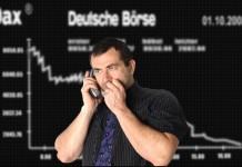 Spanikowany inwestor na niemieckiej giełdzie