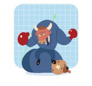 Byk, bull, comparic