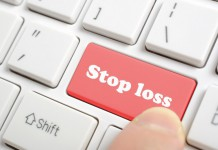 Klawisz stop loss na klawiaturze