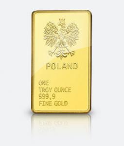 Cena i rynek złota poland sztabka