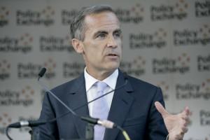 Kurs funta i giełda w UK zyskują pomimo cięcia stóp Banku Anglii. Carney obiecuje wsparcie