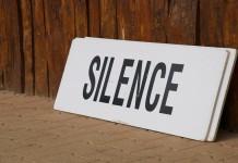 silence cisza cc