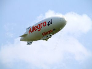 Allegro najlepiej poradziło sobie wśród polskich blue chipów
