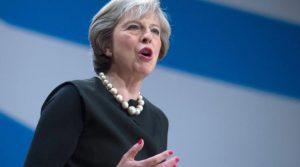 Theresa May premier UK
