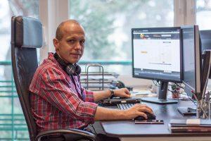 Maciej Goliński, autor książki Inside Bar