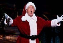 Donald Trump w stroju świętego Mikołaja