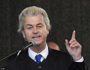 Geert Wilders, lider Partii Wolności