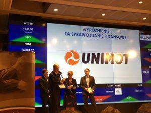 Unimot zrealizuje prognozę 80 mln zł skons. EBITDA skorygowanej w 2020 r.