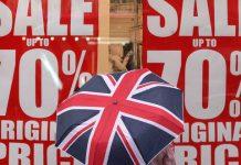 brytyjska sprzedaż detaliczna