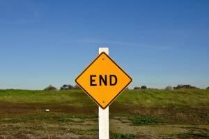 Znak END w USA