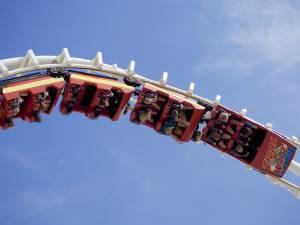 rollercoaster do góry nogami