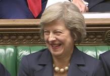 Brytyjska premier, Theresa May