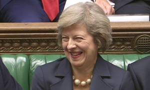 Brytyjska premier, Theresa May