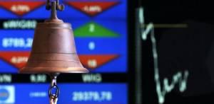 dzwonek sesyjny na giełdzie GPW