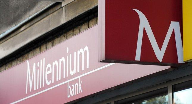 Bank Millenium z korekcyjnym odbiciem. Nieciekawy wykres miesięczny