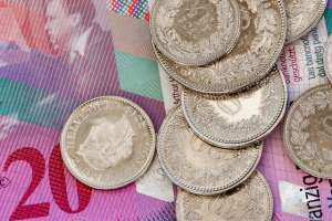 Kurs franka szwajcarskiego coraz wyżej, CHFPLN niemal po 4,34 zł. 13 maja 2020 roku