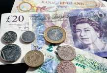 Monety i banknoty funta GBP