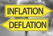 inflacja deflacja znaki drogowe