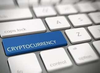 Klawiatura z klawisze cryptocurrency
