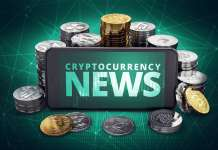 telefon z napisem cryptocurrency news