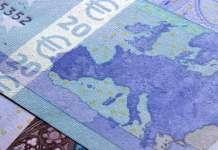 Banknot o nominale 20 euro EUR