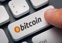 klawiatura z przyciskiem bitcoin