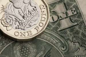 Jeden funt szterling i dolar amerykański
