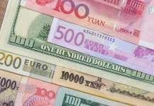Banknoty Euro Jen