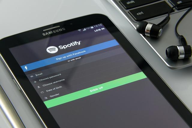 Telefon ze Spotify