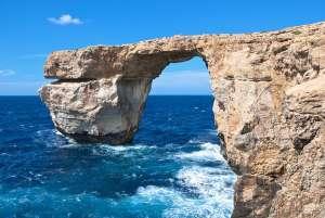 malta morze skała
