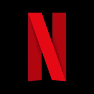 Logo Netflix w postani wielkiego czerwonego N