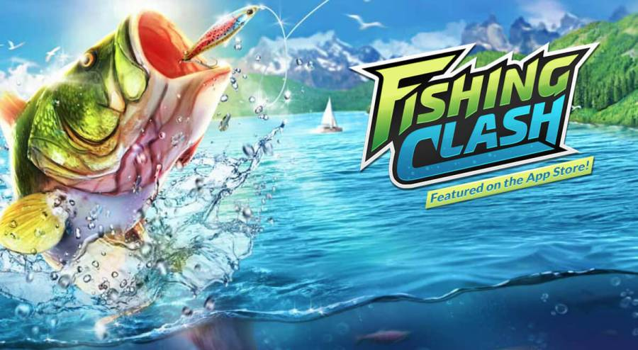 Gra Ten Square Games zatytułowana Fishing Clash
