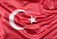 Flaga Turcji kurs liry TRY