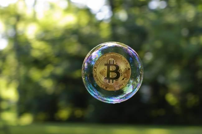 Bańka spekulacyjna na notowaniach bitcoina