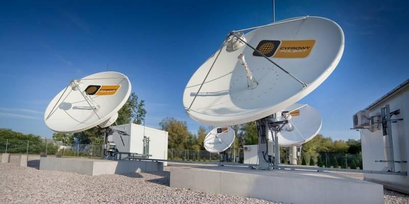 Talerze satelitarne Cyfrowy Polsat