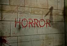 napis krwią horror