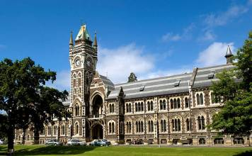 Budynek Uniwersytetu w Otago