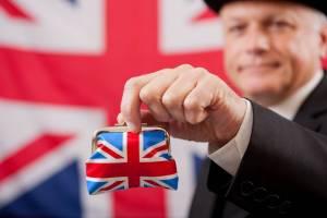 Brytyjczyk z portmonetką