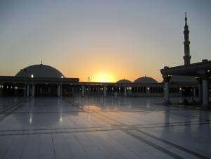 zachód słońca arabia saudyjska