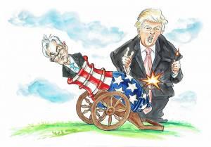 Trump zwalnia Powella