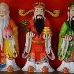 figurki chińskich filozofów