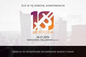 Konferencja 10 lat Bitcoina w Warszawie