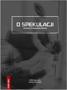 O speklulacji okładka książki Rafała Zaorskiego