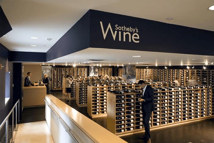 Inwestowanie alternatywne w sztukę - Sotheby's Wine