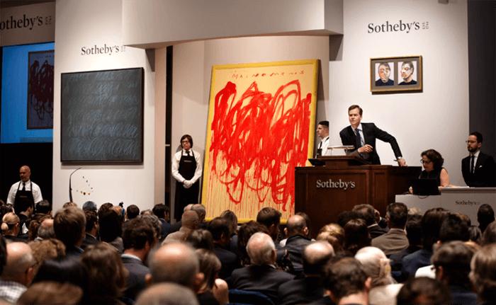 Inwestowanie alternatywne w sztukę - Sotheby's