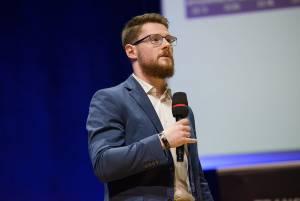 Maksymilian Bączkowski podczas Invest Cuffs 2019