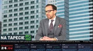 Sebastian Huczek na antenie Comparic24.tv