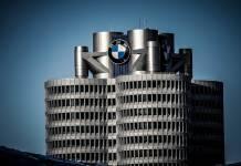 BMW logo siedziba