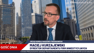 Maciej Kurzajewski z UKNF był gościem w Comparic24.TV
