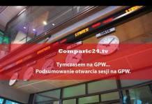 Comparic24.tv, program tymczasem na GPW